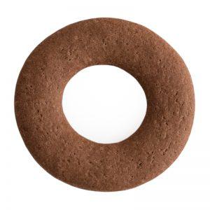 Cocoa Biscotti Ring