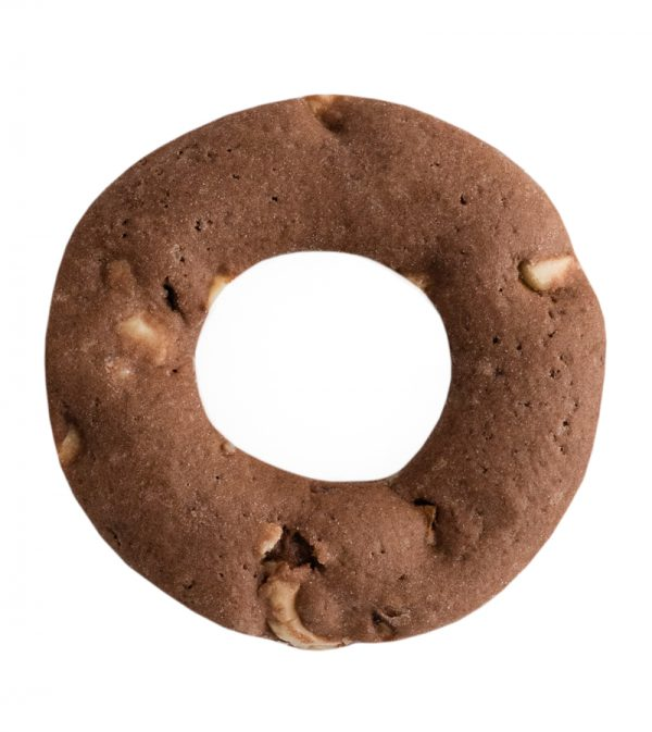 Cocoa Hazelnut Biscotti Ring