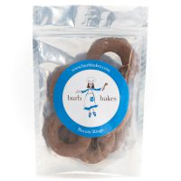 Cocoa Hazelnut Biscotti Rings Packaged