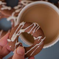 White Chocolate Drizzle Biscotti Lifestyle