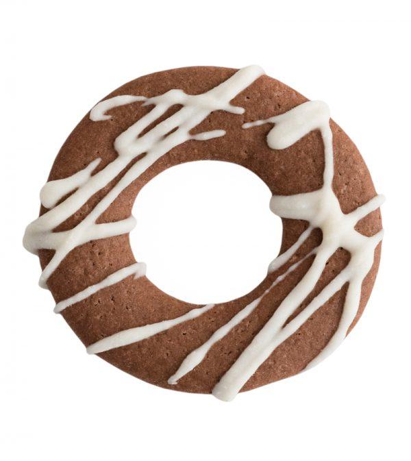 White Chocolate Drizzled Biscotti